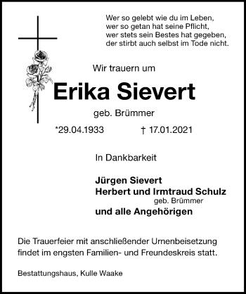 Erika Sievert