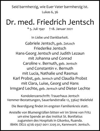 Friedrich Jentsch