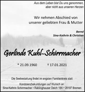 Gerlinde Kuhl-Schirrmacher