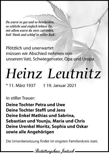 Heinz Leutnitz