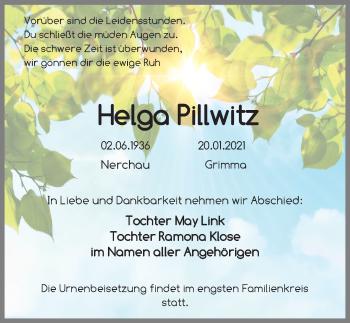 Helga Pillwitr