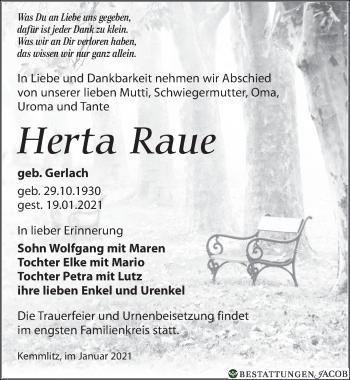 Herta Raue
