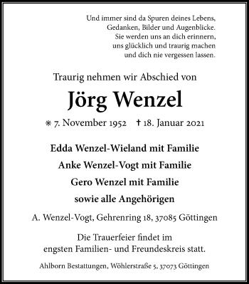 Jörg Wenzel