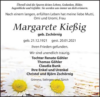 Margarete Kießig