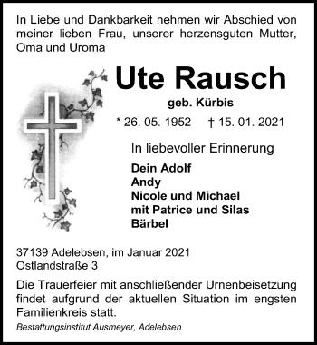 Ute Rausch