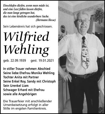 Wilfried Wehling