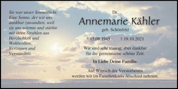 Annemarie Kähler