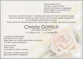 Christa Göttlich