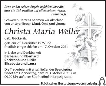 Christa Maria Weller