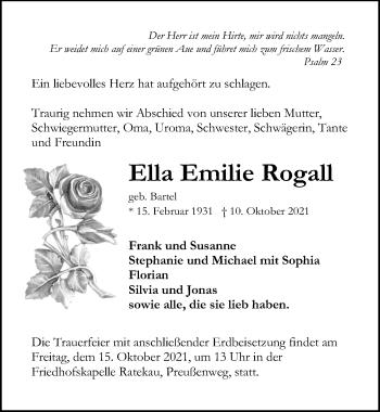 Ella Emilie Rogall