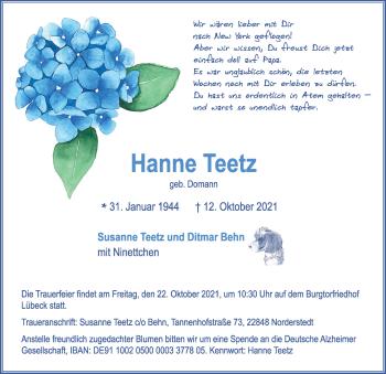 Hanne Teetz