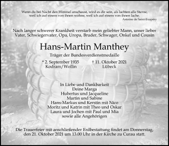 Hans-Martin Manthey