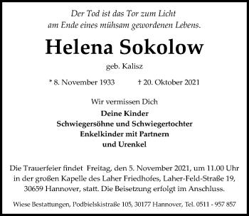 Helena Sokolow