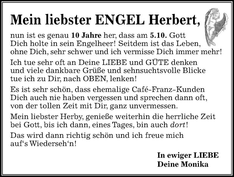 Traueranzeige für Herbert  vom 05.10.2021 aus Kieler Nachrichten