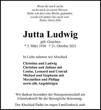 Jutta Ludwig