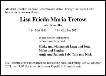 Lisa Frieda Maria Tretow