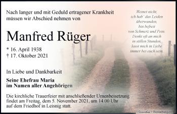 Manfred Rüger