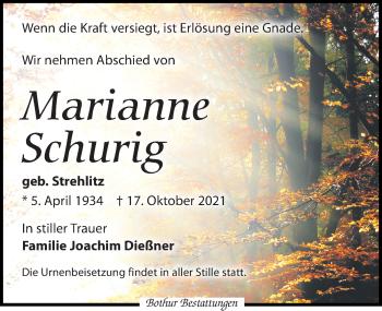 Marianne Schurig