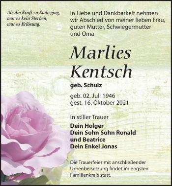 Marlies Kentsch