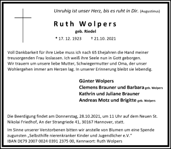 Ruth Wolpers