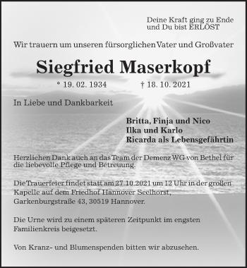 Siegfried Maserkopf