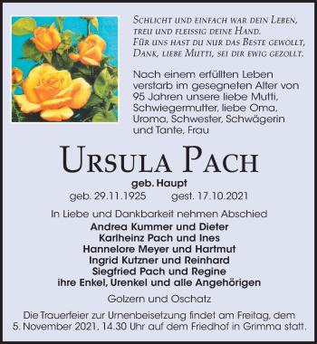Ursula Pach