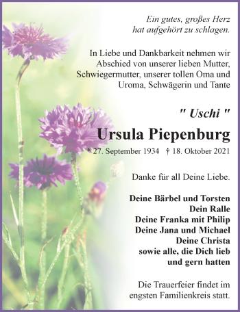 Ursula Piepenburg