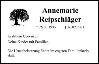 Annemarie Reipschläger