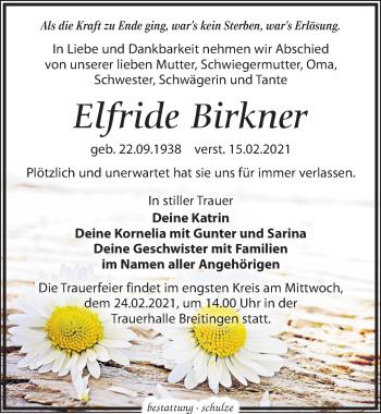 Elfride Birkner