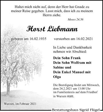 Horst Liebmann