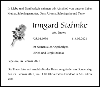 Irmgard Stahnke