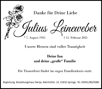 Julius Leineweber