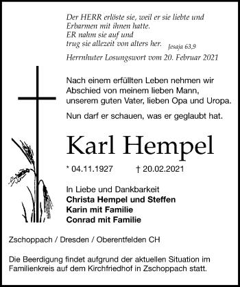 Karl Hempel