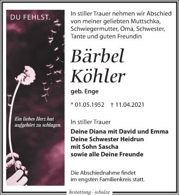 Bärbel Köhler