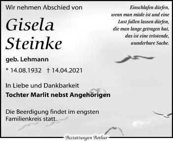 Gisela Steinke