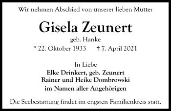 Gisela Zeunert