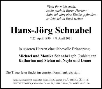 Hans-Jörg Schnabel