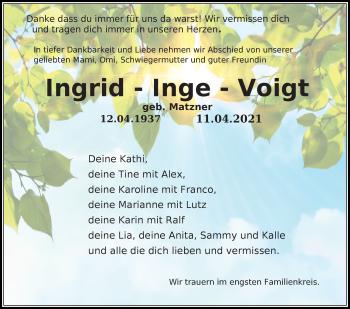 Ingrid Voigt