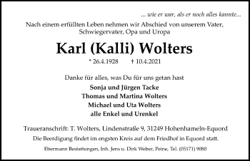 Karl Wolters