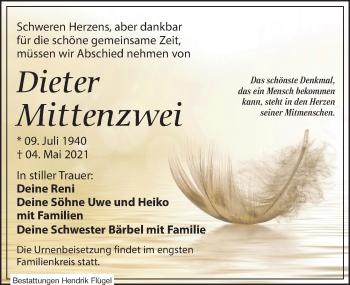 Dieter Mittenzwei