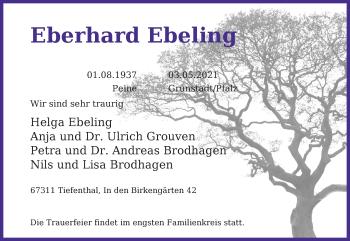 Eberhard Ebeling