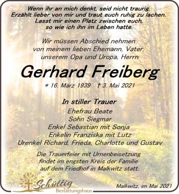 Gerhard Freiberg