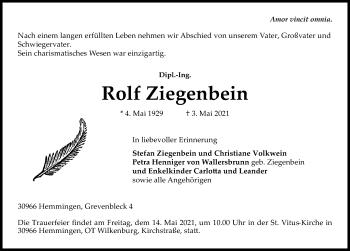 Rolf Ziegenbein