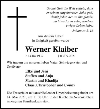 Werner Klaiber