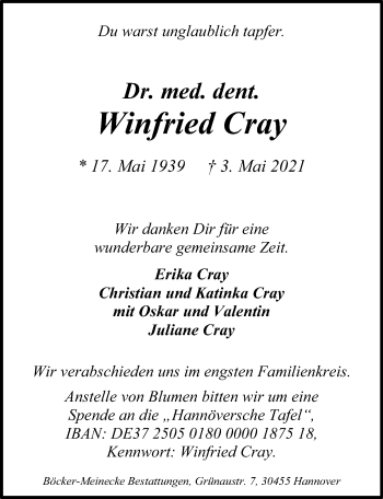 Winfried Cray