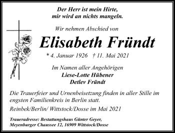 Elisabeth Fründt