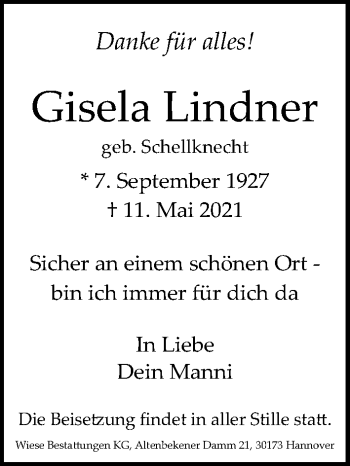 Gisela Lindner