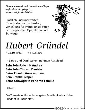Hubert Gründel