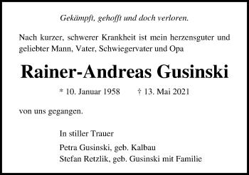 Rainer-Andreas Gusinski