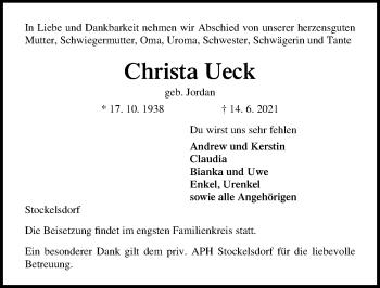 Christa Ueck
